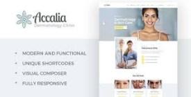 AccaliaDermatology Clinic WordPress Theme