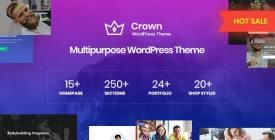 CrownMulti Purpose WordPress Theme