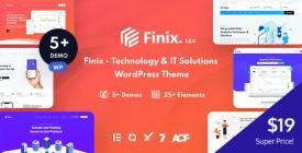 Finix - Technology - IT Solutions WordPress Theme