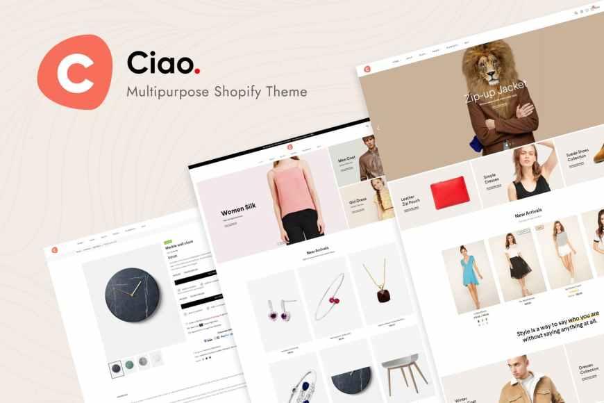 Ciao - Multipurpose Shopify Theme