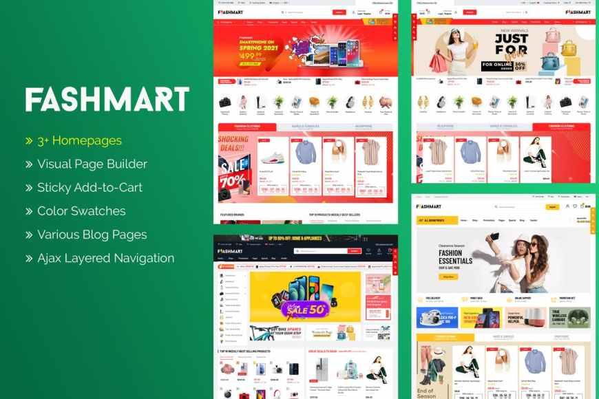 FlashMart - Responsive Multipurpose Sections Shopify Theme