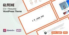 Glitche - CV Resume Theme