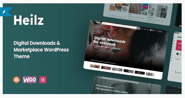 Heilz - Digital Goods WordPress Theme