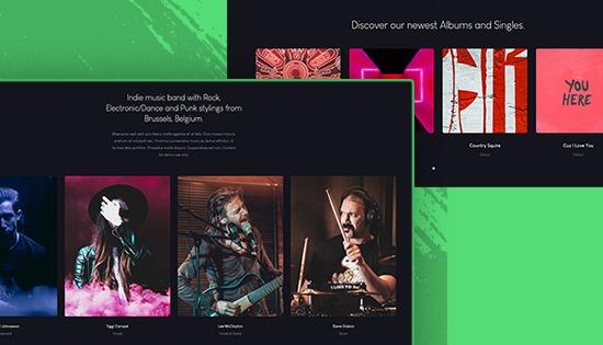 JA Symphony - musical template for Joomla