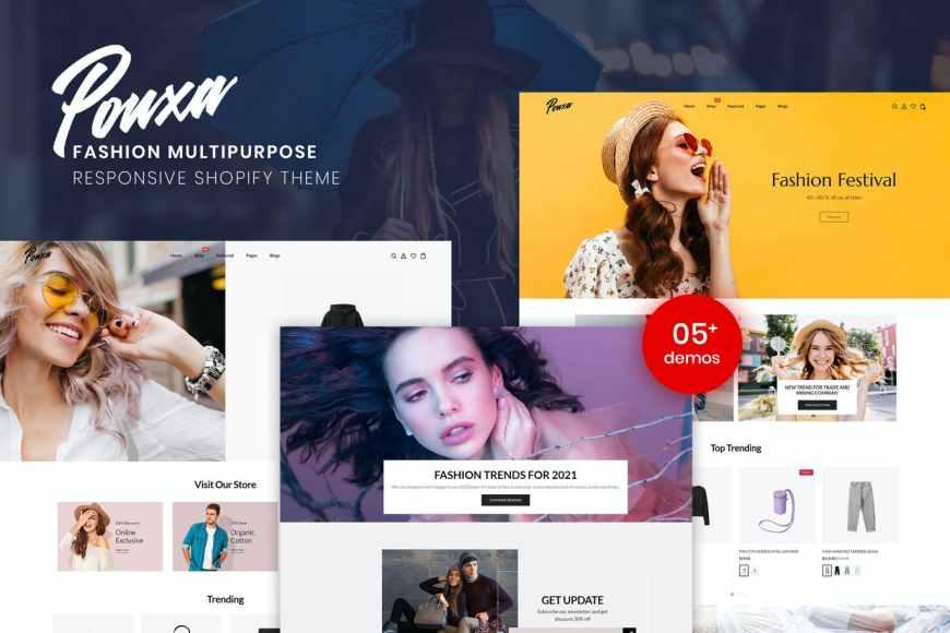 Pouxa - Fashion Multipurpose Responsive Shopify Theme