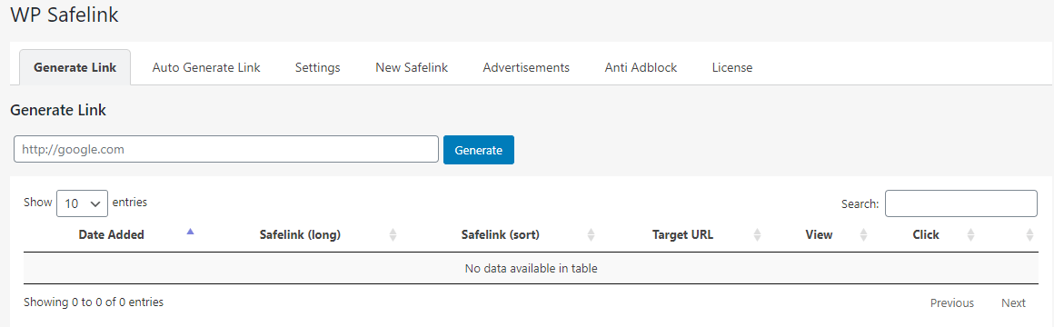 WP Safelink v3 Converter Link to Adsense 100% Working