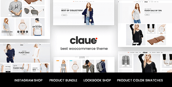 Claue - Clean Minimal Woocommerce Theme
