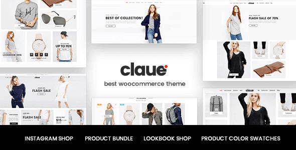Claue - Clean Minimal Woocommerce Theme