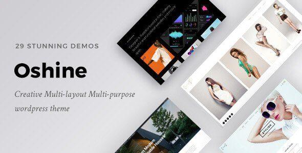 Oshine Creative Multi Purpose Wordpress Theme