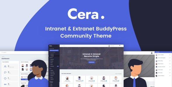 Cera - Intranet & Community Theme