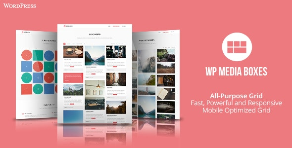 Media Boxes Portfolio - WordPress Grid Gallery Plugin