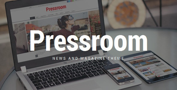 Pressroom - News and Magazine WordPress Theme