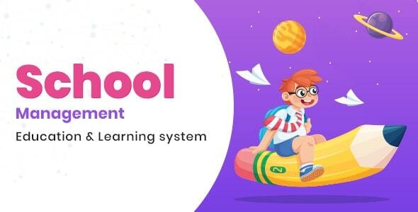 School Management Education - Learning Management system for WordPress
