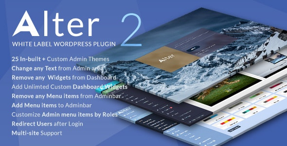 White Label WordPress Plugin - WpAlter