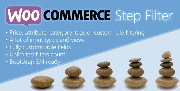 Woocommerce Step Filter GPL