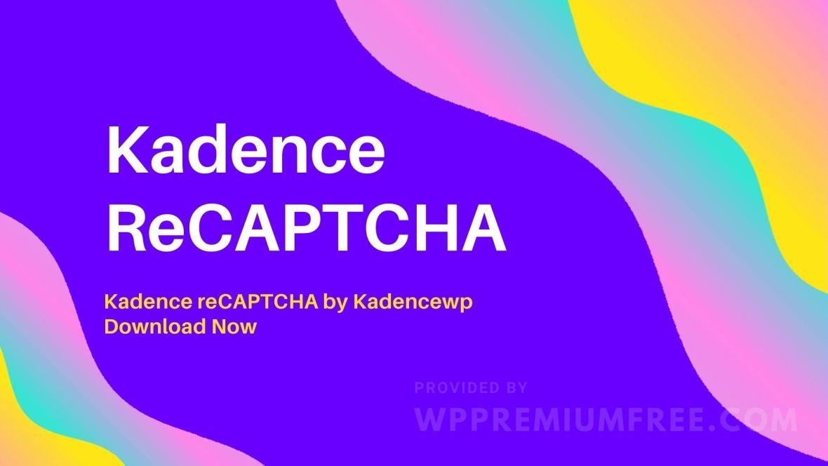 Kadence ReCAPTCHA