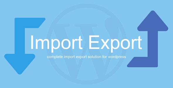 WP Import Export