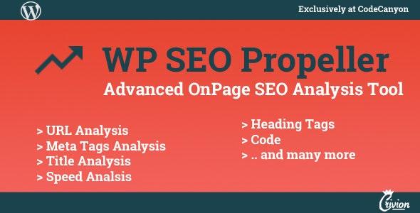WP SEO Propeller - Advanced SEO Analysis Tool