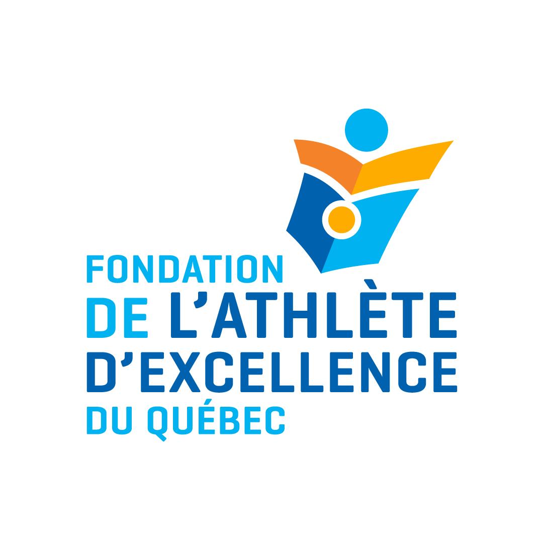 Logo de la Fondation de l'athlète d'excellence du Québec