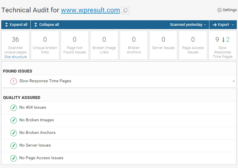webceo-technical-audit