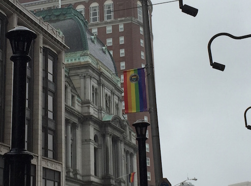 Providence Gay Pride Banner City Hall Biltmore_182930