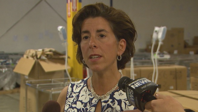 Gov. Gina Raimondo on Clean River Energy Center_196889