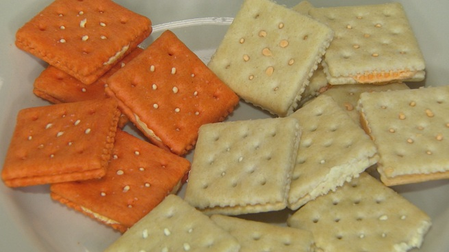 Kellogg's sandwich crackers peanut flour_302412