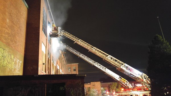 Fire breaks out in Providence mill building_306206