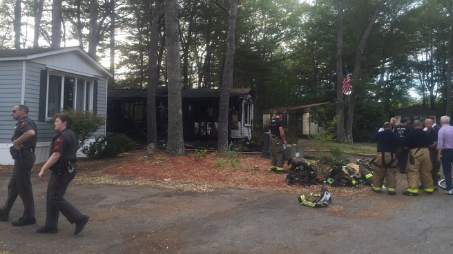 Coventry mobile home fire_325646
