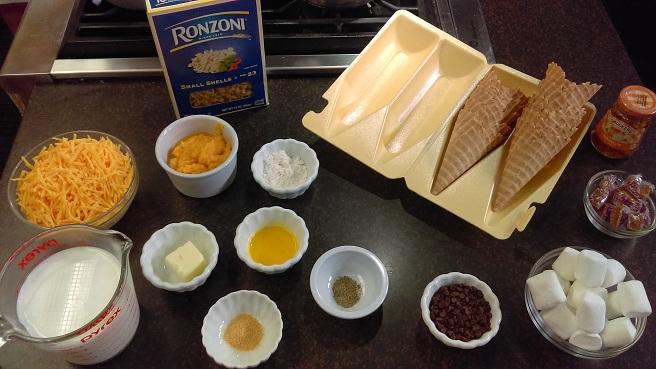 Summer snacks ingredients_342307