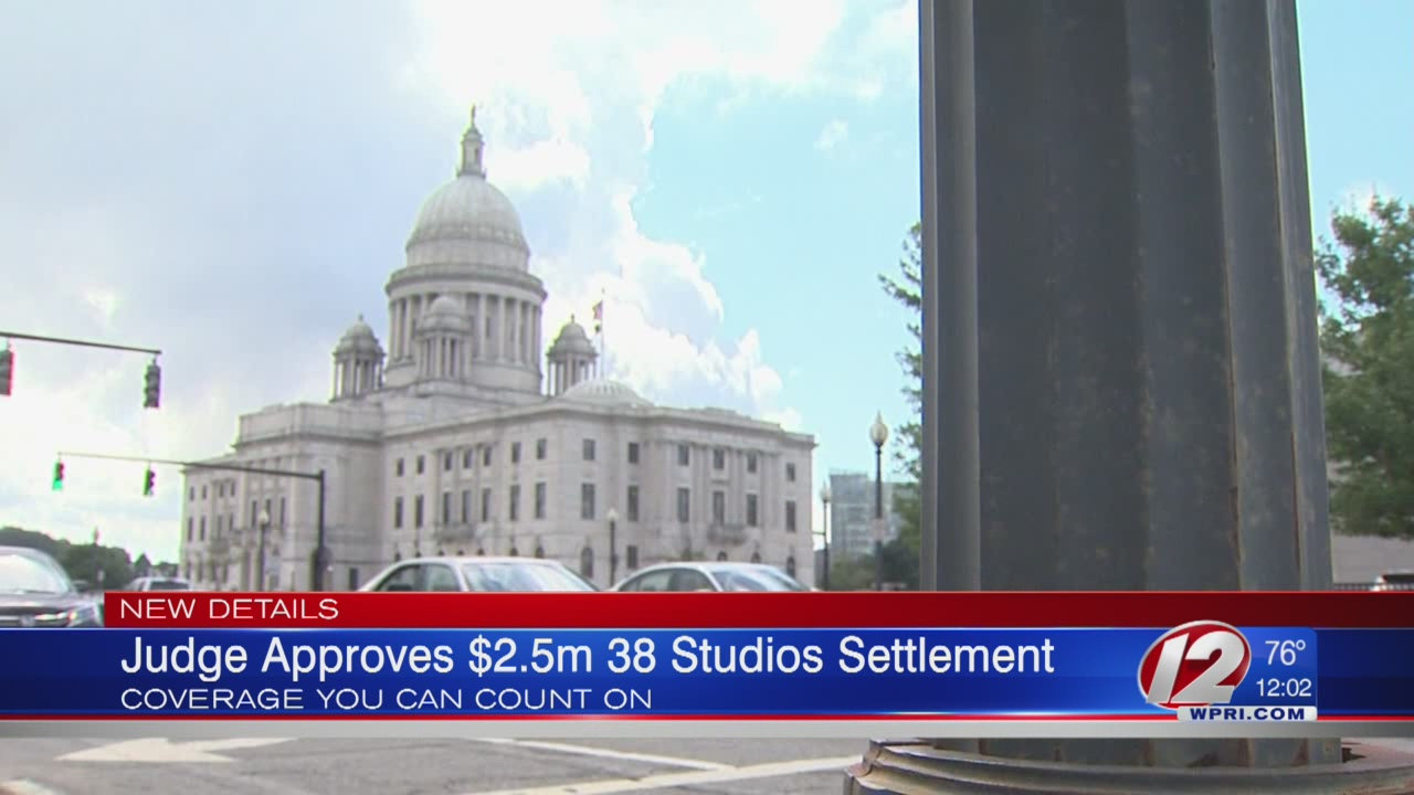 Settlement reached in 38 Studios Scandal