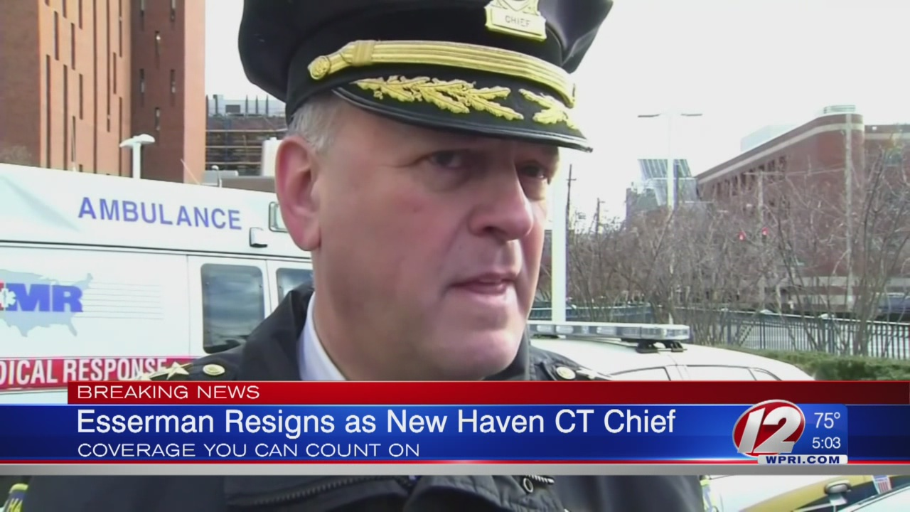 Embattled New Haven police chief resigns after outbursts