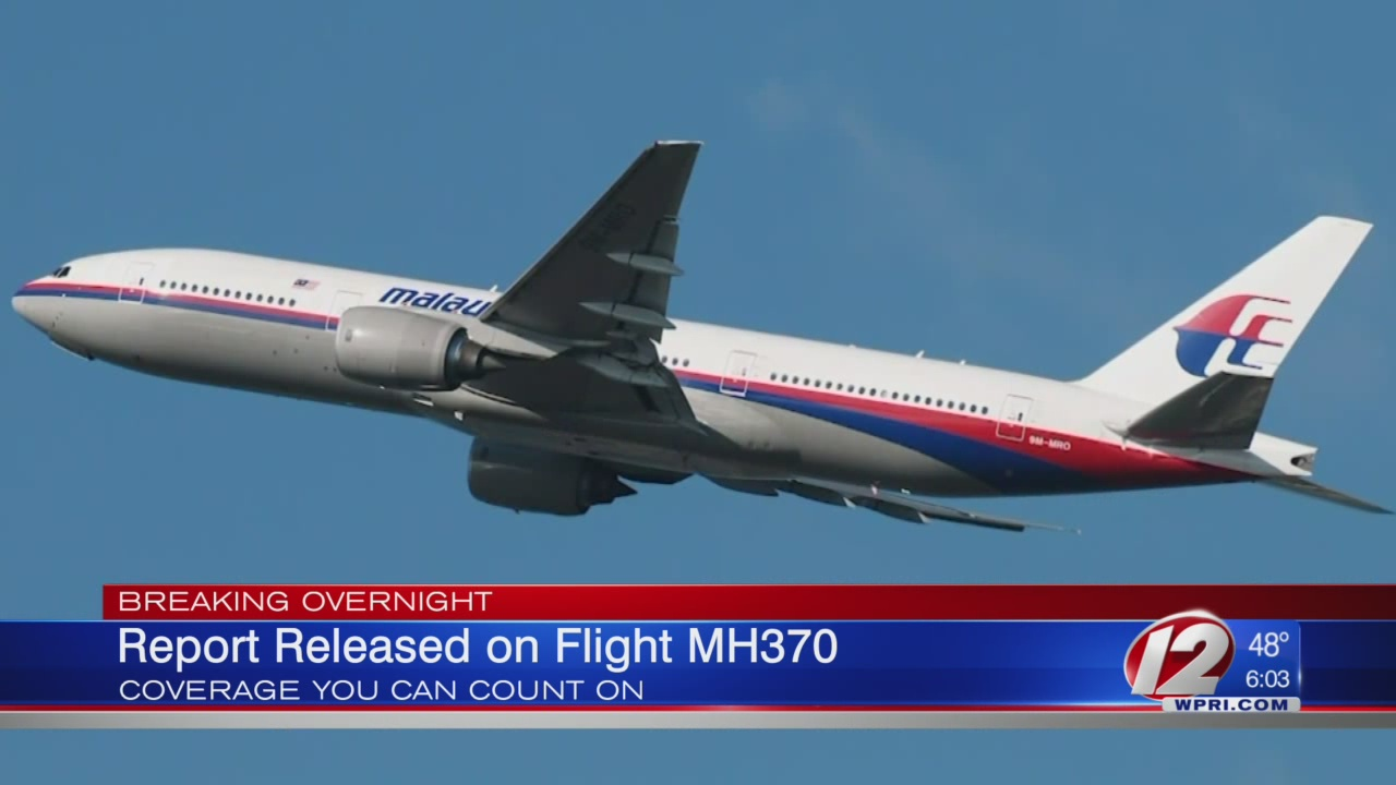Report Released on Flight MH370