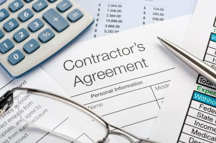 istock generic contractor's agreement contract_8424