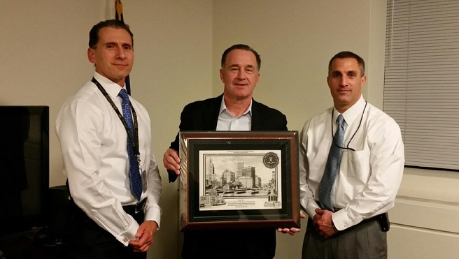 Col. Steven O'Donnell honored by FBI Boston_383781