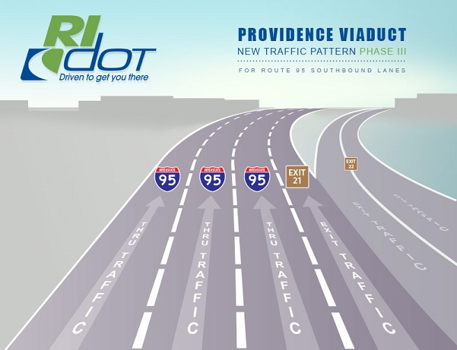 Providence Viaduct lane shift phase III_383748