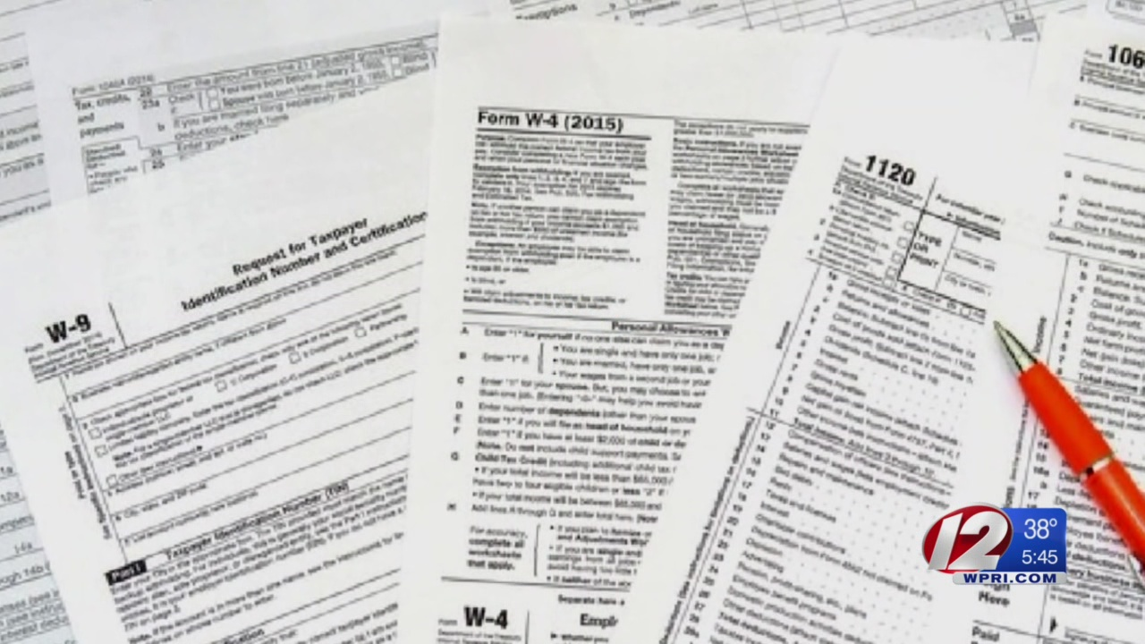 RI tax refunds up 11 percent from last year, data shows