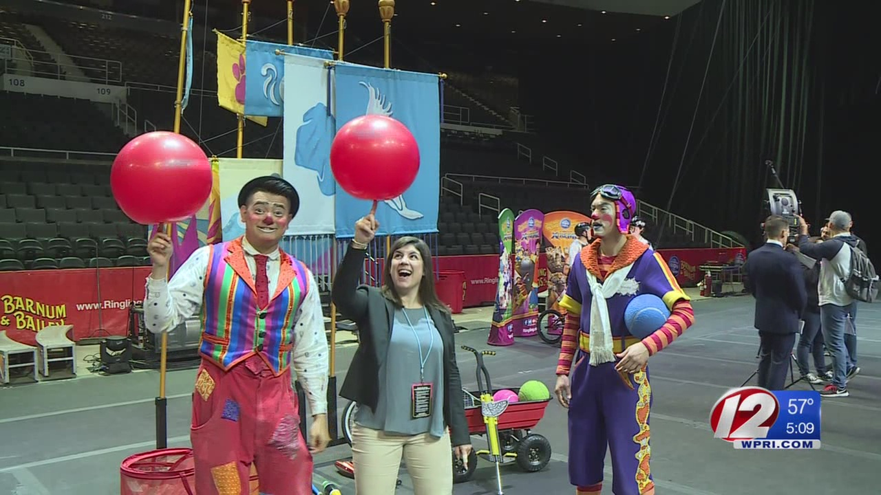 Circus Performers Get Ready for Final Show in Providence