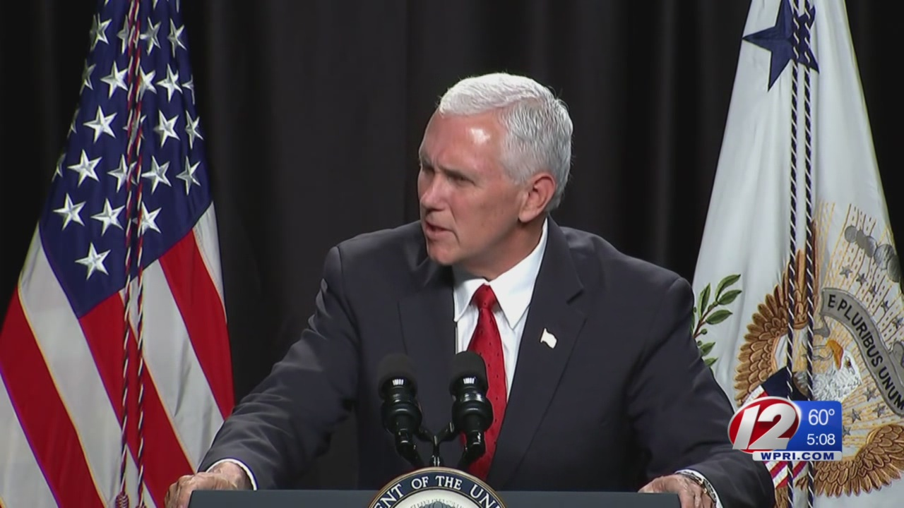 Pence Plans to Sit Down with Trudeau in Providence