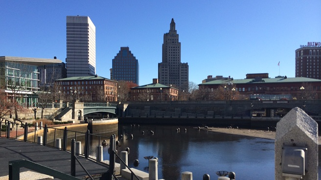 Downtown Providence skyline - Waterplace Park - generic Providence_230377