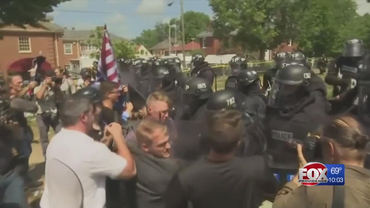 Local leaders condemn violence in Virginia