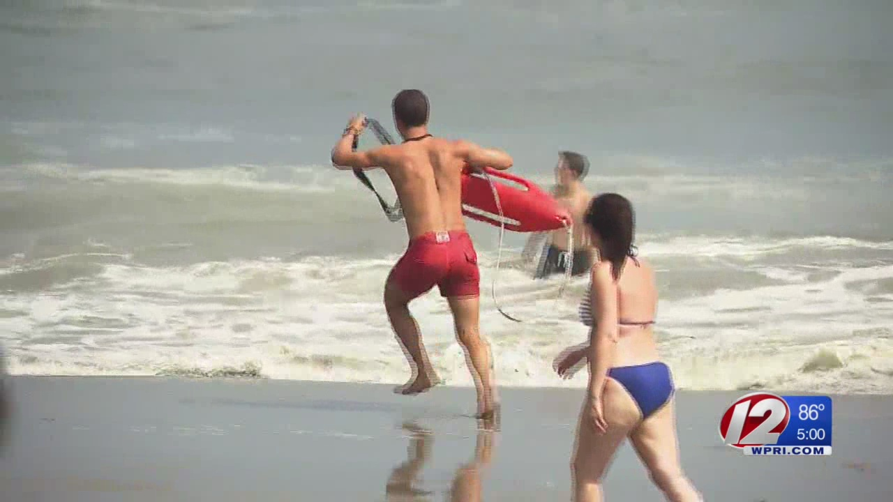 Gert kicks up surf, forces some beaches to ban swimming