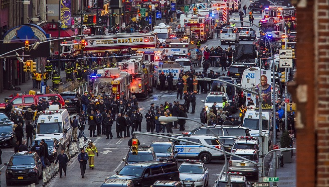 NYC Subway Platform Explosion_604256