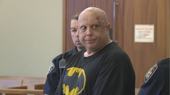North Smithfield police officer assault suspect Carlos Webster in court