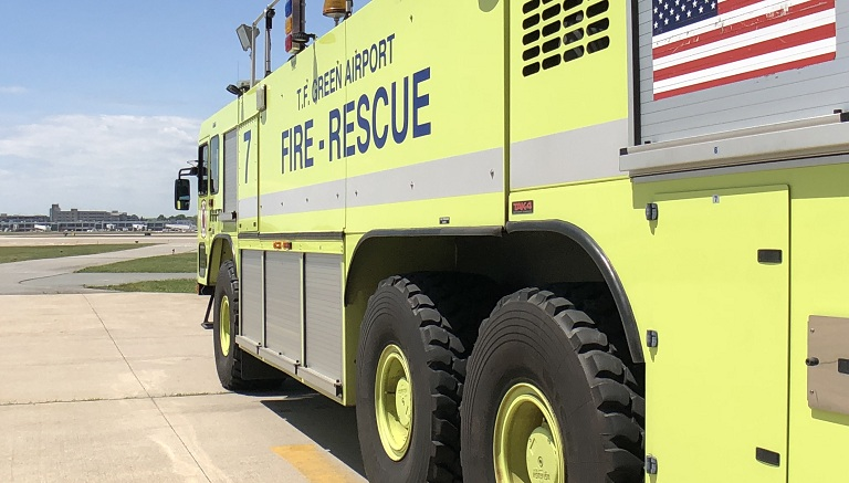 T.F. Green Airport fire rescue vehicle