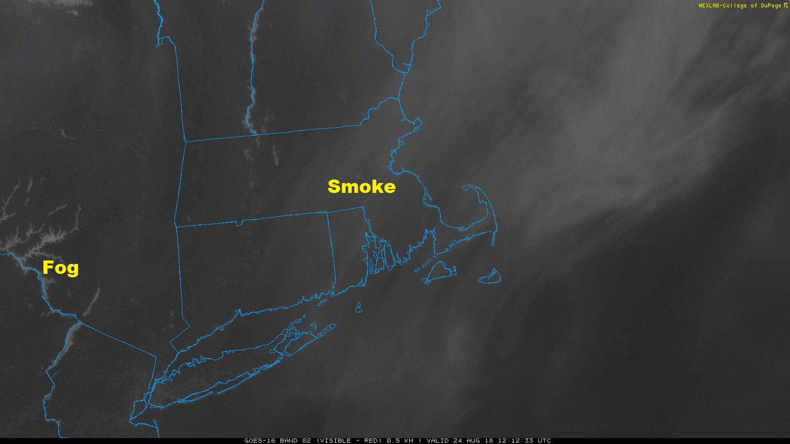 Smoke from Wildfires in the Western US is in New England ...