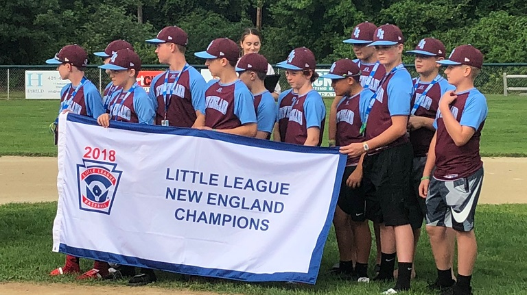 Coventry Little League returns home