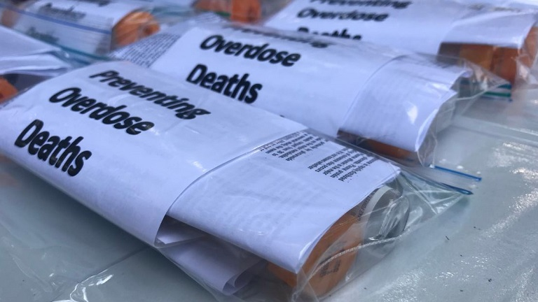 Overdose prevention kits