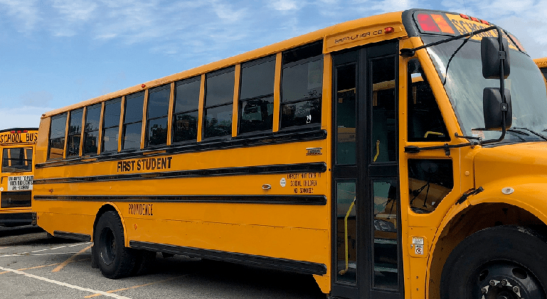 first student bus providence schools