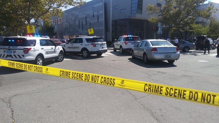 Providence police Fricker Street scene